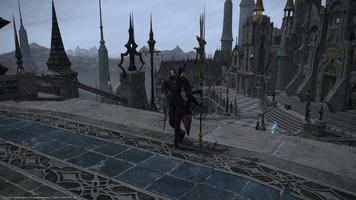 Dragoon au milieu d'Ishgard