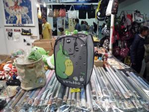 Un bac à linge sale Totoro, à ce qu'il parait