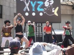 Dragon Ball Z, avec Hard Gay en guest star, sur du YMCA bien sûr