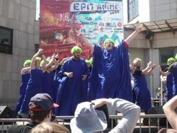 Gospel de lemmings, en ouverture du défilé