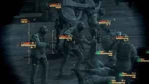 Des PMC et des rebelles capturés, avec la réalité augmentée du Solid Eye