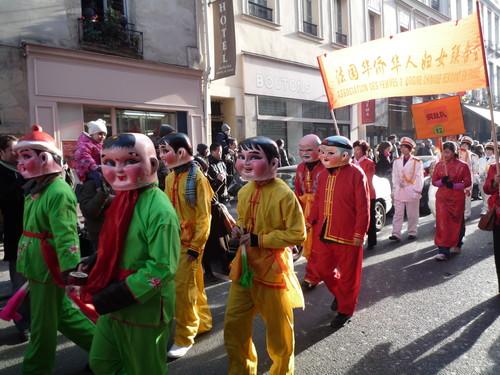 défilé du nouvel an chinois 2009 à Châtelet